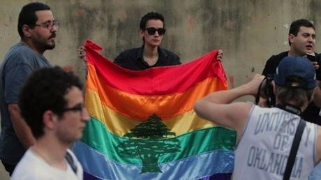 Homosexual acts in public