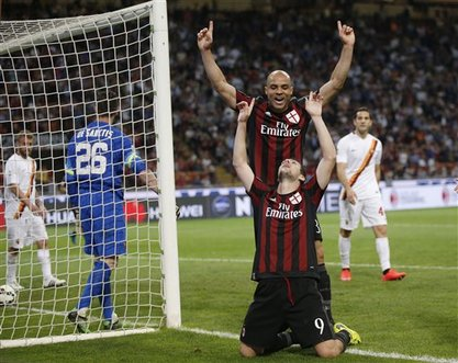 Ac Milan Upset Roma To Blow Open Champions League Race Naharnet