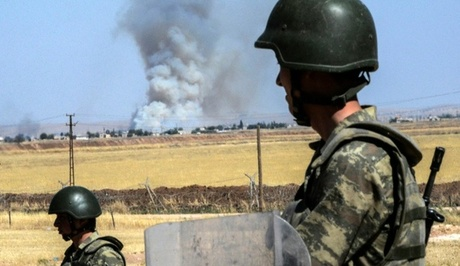 Turkish Jets Strike Kurdish Militia
