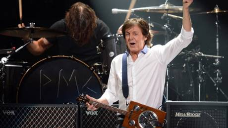 Image result for paul mccartney with rare guitar