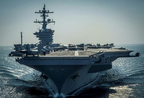 South Korea Considers Naval Military Drills With US Carl Vinson Carrier