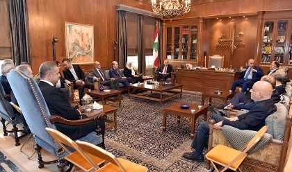 United States  envoy continues shuttle diplomacy over Israel-Lebanon gas dispute
