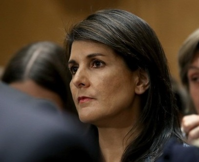 United States  envoy to United Nations  says Syria used chemical weapons 50 times