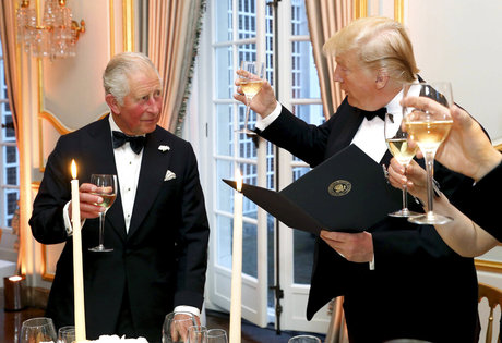 Here's what Trump learned after Prince Charles dropped climate science on him