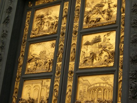 The Renaissance bronze and gold doors of the Florence Baptistry -- a masterpiece known as the  Gates of Paradise  -- will be unveiled in September after a ... & Renaissance Doors of Florence Baptistry Finally Open After 27-Year ...