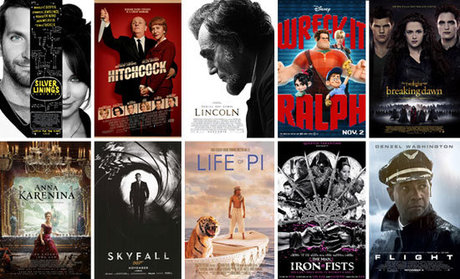 The 10 Best Movies of 2012 — Naharnet