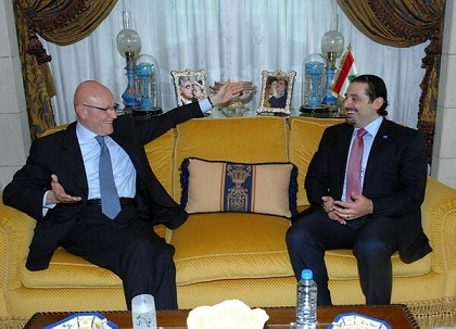 Tammam Salam Meets Hariri, Prince Bandar amid Reports Hizbullah, AMAL Back his Candidacy as PM