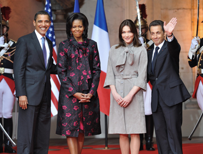 exfrench president top gift giver to obama family � naharnet