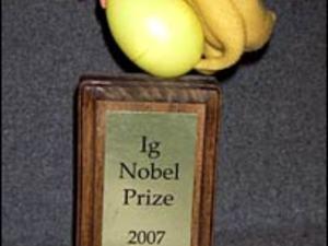 Wacky ig nobel prizes