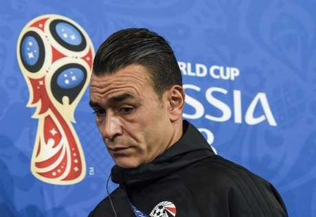 Image result for Egypt goalkeeper Essam El-Hadary becomes oldest World Cup player in history